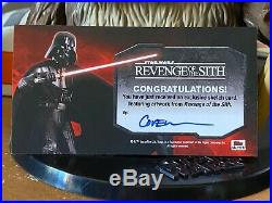 Star Wars Topps Artist Sketch Card 1/1 Revenge of Sith Roy Cover Widevision