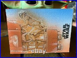 Star Wars Topps Artist Sketch Card 1/1 Rey by Matthew Hirons
