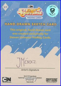 Steven Universe Amethyst Original Artist Proof Sketch Card Juan Mendez
