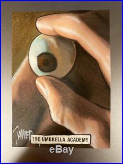 The Umbrella Academy Season 1 Javier Gonzalez Artist Sketch Card 1/1