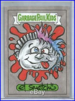 Topps Garbage Pail Kids We Hate The 90's Artist Sketch Card #1/1 (El Smetcho)