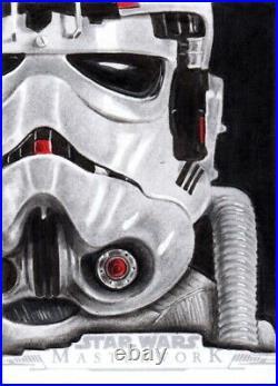 Topps Star Wars Masterwork 2019 Sketch Trading Card Artist Proof Paul Shiers