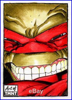 Topps TMNT Teenage Mutant Ninja Turtles Artist Return Sketch card by Alex Mines