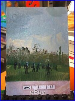 Topps The Walking Dead Artist Sketch Card 1/1 Walkers by Ingrid Hardy