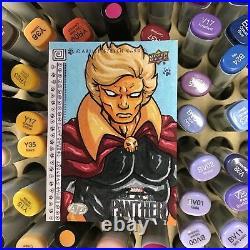 Upper Deck Marvel Black Panther Artist Proof Sketch Card Adam Warlock By Fuzzy